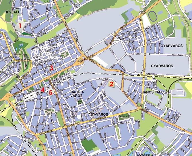 győr vasútállomás térkép Győr város térképe győr vasútállomás térkép